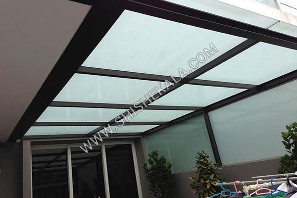 سقف شیشه لمینیت