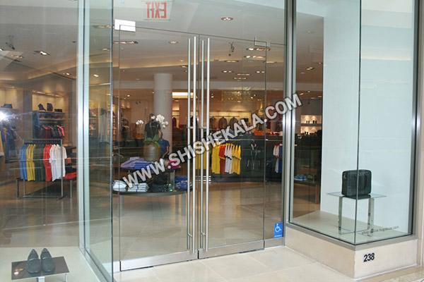 شیشه مغازه | شیشه فروشگاه