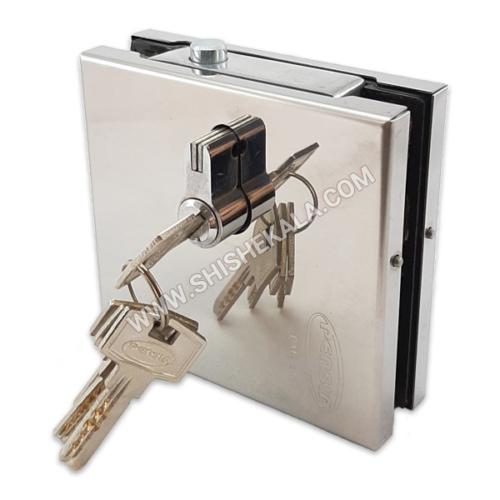 قفل 105 پایین درب شیشه ای